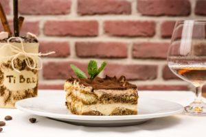 マスカルポーネのケーキ