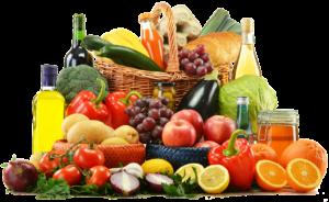 果物野菜盛り合わせ